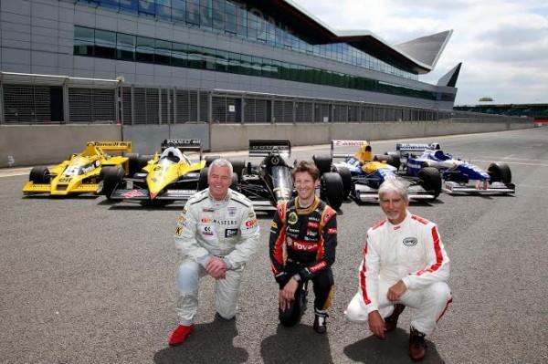 F1-Trois-pilotes-de-talent-Derek-WARWIVK-Romain-GROISJEAN-et-Damon-HILL-pour-tester-les-F1-d-antan-a-moteur-RENAULT-TURBO
