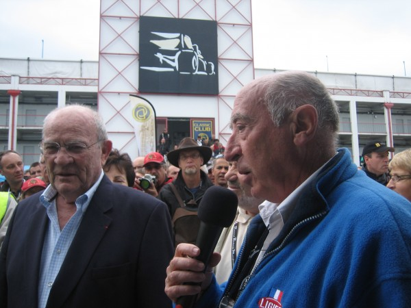 GUY LIGIER et l'ingénieur  Michel TETU .