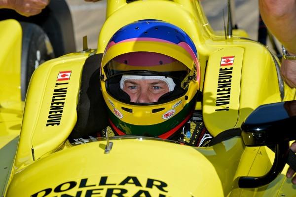 INDYCAR 2014 - GP INDIANAPOLIS -Jacques VILLENEUVE