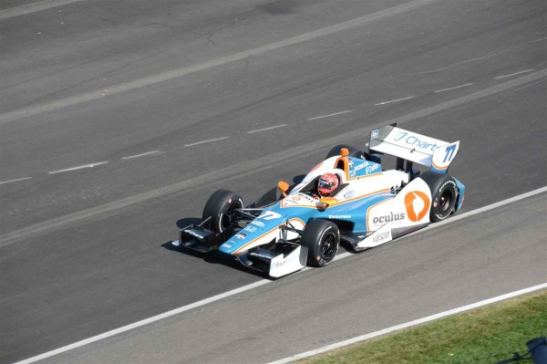 INDYCAR-2014-GP-INDIANAPOLIS-SIMON-PAGENAUD-Team-SCHMIDT-PETERSON