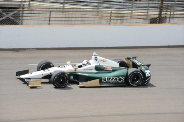 INDYCAR-2014-Indianapolis-Ed-CARPENTER-le-plus-vite-du-Fast-FRIDAY-le-vendredi-16-Mai