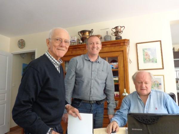 Jean-Pierre-JAUSSAUD-avec-son-fils-Eric-et-Gilles-GAIGNAULT-autonewsinfo
