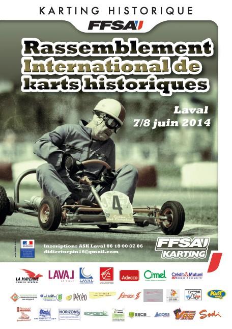 KARTING HISTORIQUE 2014 Affiche-LAVAL