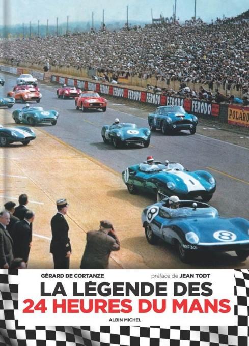 Livre-La-legende-des-24-Heures-du-Mans de Gérard de CORTANZE