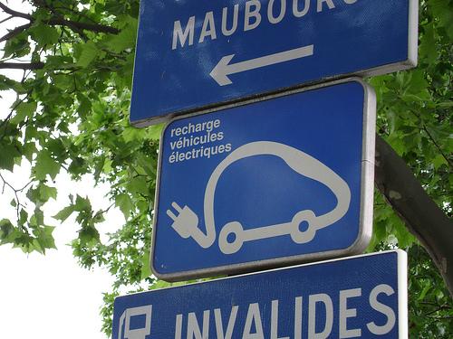 Logo-voiture_electrique_panneau