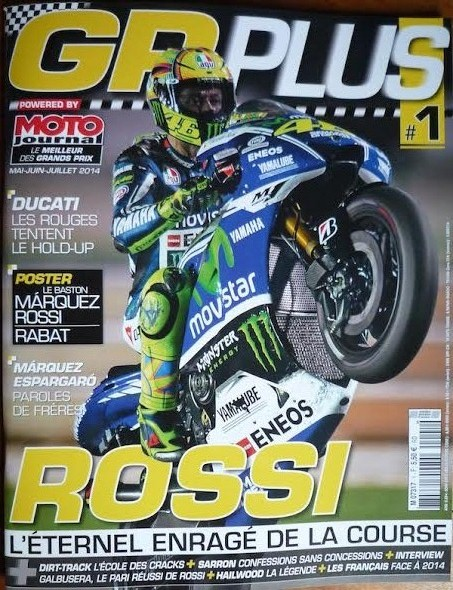 MAGAZINE GP PLUS couverture N°1 2014
