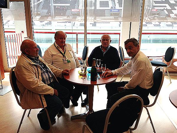 MAGNY-COURS-7-septembre-2013-Loge-VIP-GUY-LIGIER-Senateur-Marcel-CHARMANT-Serge-SAULNIER-et-Gilles-GAIGNAULT