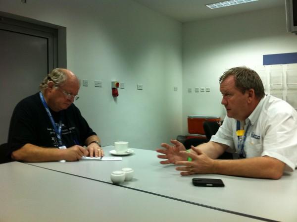 MICHELIN - Entretien avec Pascal COUASNON à BAHREIN le 30 novembre 2013 - Photo Jean Michel LE MEUR DPPI