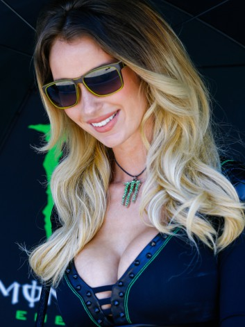 MOTO GP  2014 GP DE FRANCE - LES GIRLS DE MONSTER 4