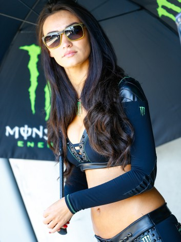 MOTO GP  2014 GP DE FRANCE - LES GIRLS DE MONSTER 6