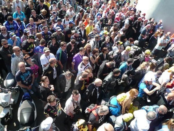 MOTO GP 2014 - GP de FRANCE  - Une foule immense au Mans