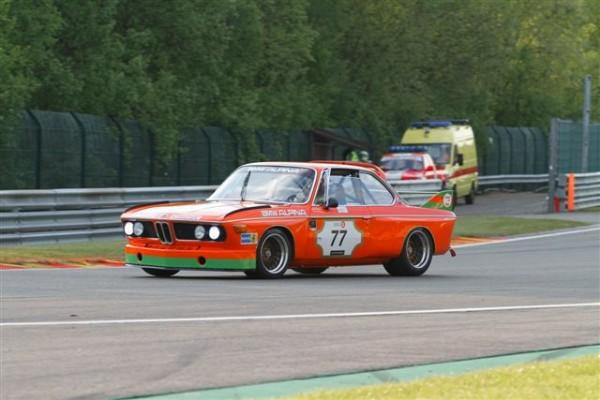 SPA-CLASSIC-2014-Dominik-ROSCHMAND-BMW-3.-CSL-vainqueur-en-en-HTC-épreuve-dune-heure-de-course-©-Manfred-GIET