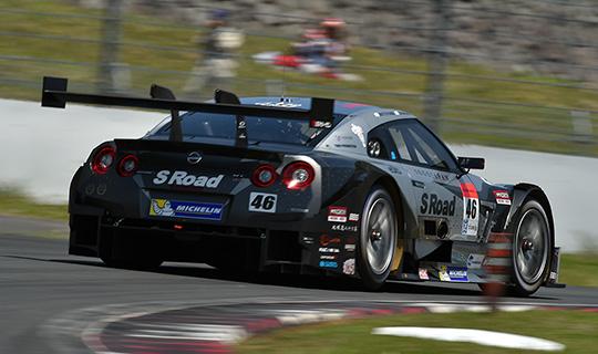SUPER-GT-2014-FUJI-Satoshi-Motoyama