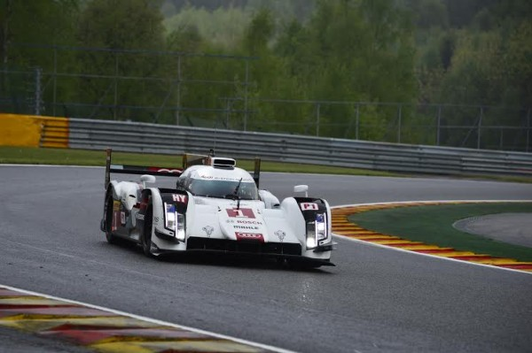 WEC 2014 SPA - AUDI N°1 - Photo Max MALKA
