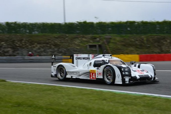 WEC 2014 SPA - La PORSCHE 919 HYBRID la N°14- Photo Max MALKA