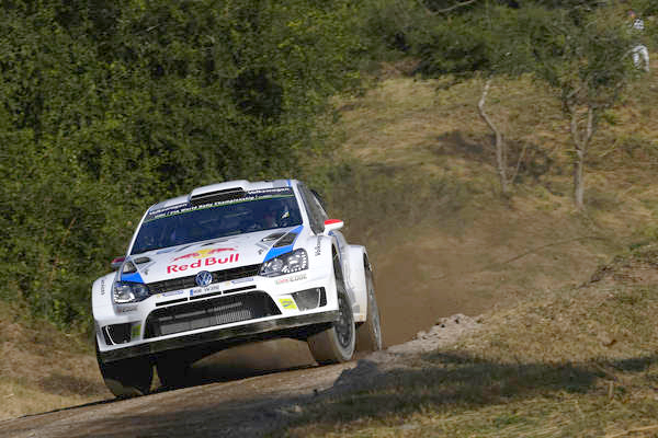 WRC 2014 ARGENTINE POLO VW de LATVALA FILE VERS LA VICTOIRE