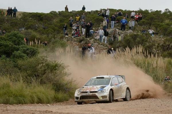 WRC 2014 ARGENTINE VW de Jari Matti LATVALA