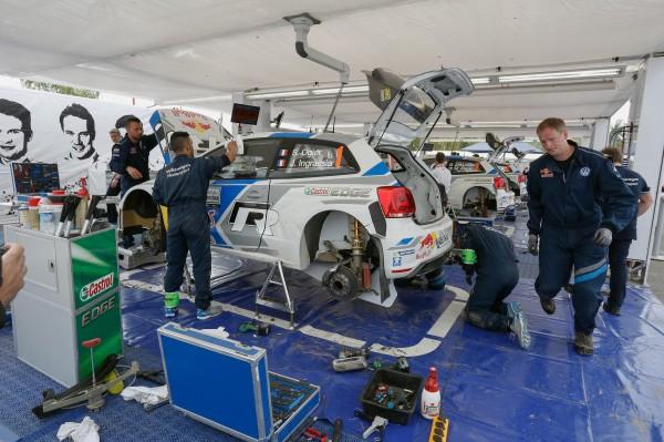 WRC 2014 ARGENTINE assistance VW