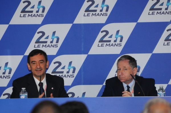 24-H-DU-MANS-2014-CONF-ACO-FIA-Pierre-FILLON-et-Jean-TODT-Photo-Patrick-COULIBALY