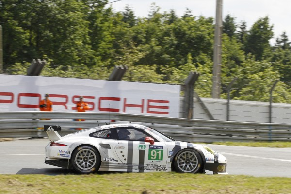 24 HEURES DU MANS 2014 - PORSCHE N° 91 -Photo Thierry COULIBALY.