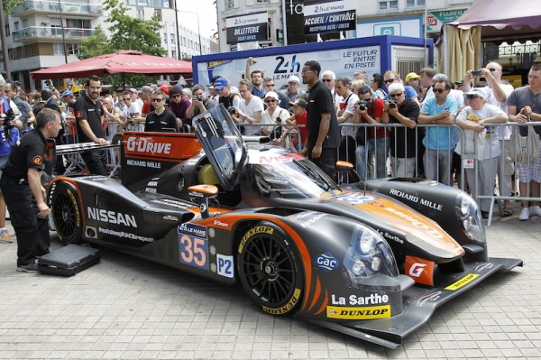 24 HEURES DU MANS 2014 Pesage Ma LIGIER Team G Drive - Photo Thierry COULIBALY
