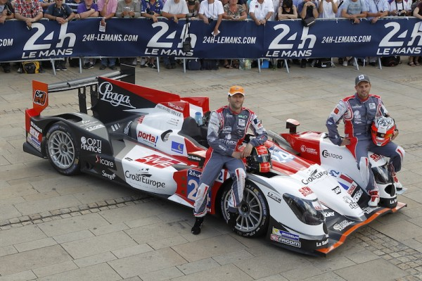 24 HEURES DU MANS 2014 Pesage ORECA Team Seb LOEB Photo Thierry COULIBALY