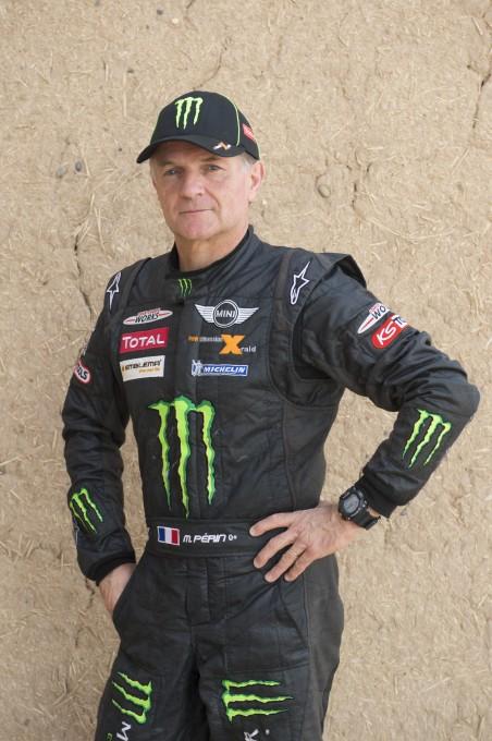 RALLYE Raid 2014 Michel PERIN - Team MINI X-Raid