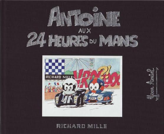 ANTOINE LE PILOTE AUX 24 HEURES du MANS.