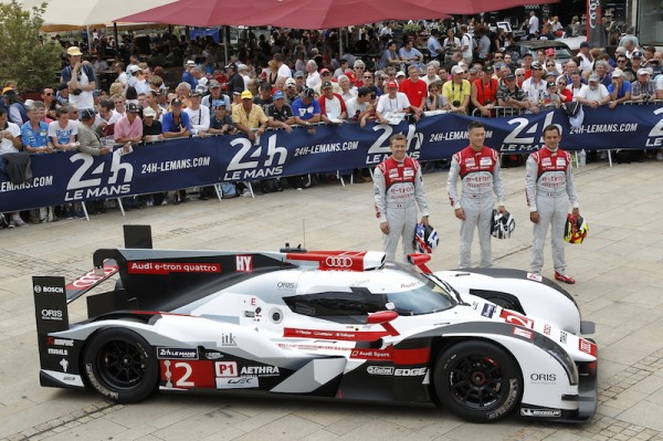 AUDI-N°2-.Marcel-FASSLER-Andreé-LOTTERER-BenoitTRELUYER -Photo Thierry COULIBALY