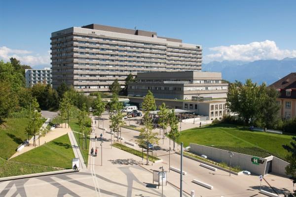 Centre hospitalier universitaire de Vaud de Lausanne.