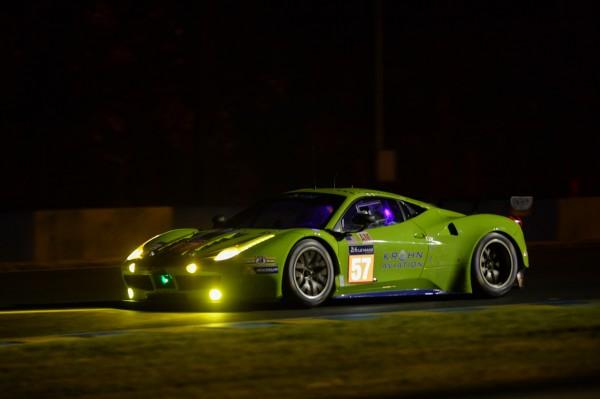 24 HEURES DU MANS 2014 - FERRARI Team KROHN LM GT AM - Photo Antoine CAMBLOR