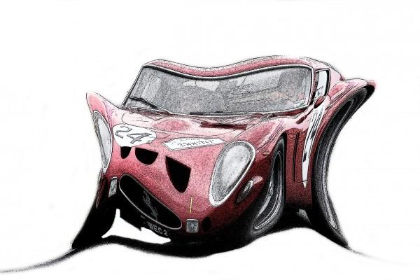 DUPLEX FERRARI GTO