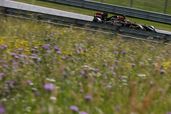 F1-2014-AUTRICHE-LOTUS-RENAULT-ROMAIN-GROSJEAN