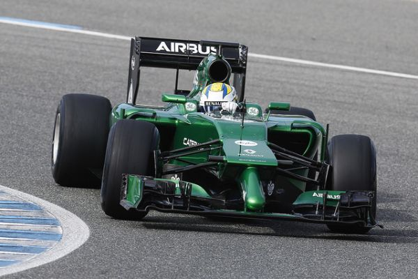 F1 2014 JEREZ CATERHAM Marcus ERICSSON