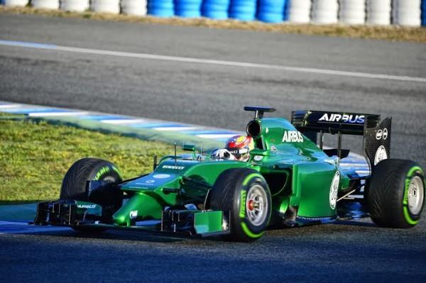 F1-2014-JEREZ-LA-CATERHAM-de-ROBIN-FRIJNS-le-JEUDI-30-JANVIER-photo-Max-MALKA