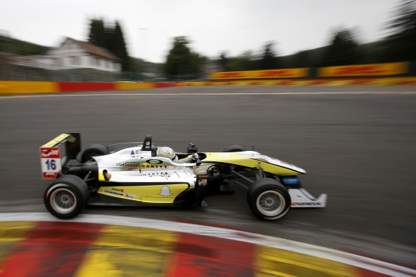 F3 2014 SPA - Gustavo Menezes USA Team Van Amersfoort Racing - Dallara F312