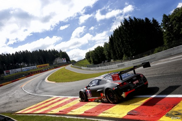 GT TOUR 2014 SPA AUDI - Andre LOTTERER et IDE - 1er seconde course 22 juin.j