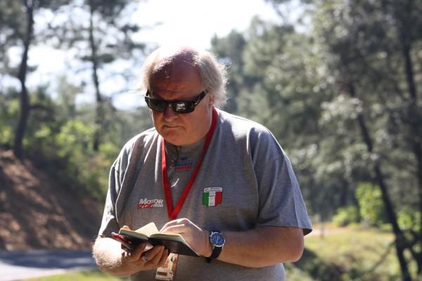 Gilles GAIGNAULT a laCarrera PANAMERICANA au Mexique en Novembre 2010