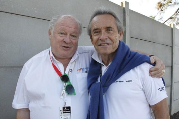 Jacky Ickx avec Gilles GAIGNAULT - Photo  Antoine CAMBLOR