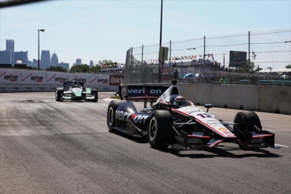 INDYCAR 2014 DETROIT - Will POWER Team Roger PENSKE