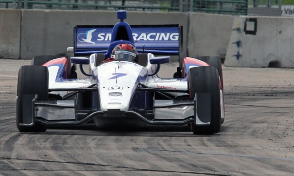 INDYCAR-2014-HOUSTON-Mikhail-ALESHIN-Team-Sam-SCHMIDT-PETERSON