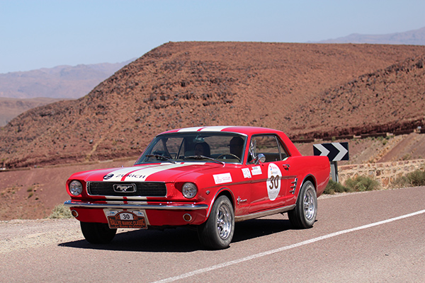 MAROC CLASSIC 2013 FORD MUSTANG IDRISSI Photo Gilles VITRY autonewsinfo