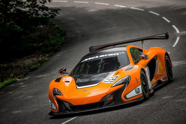 MCLAREN 650S GT3  - Presentation GOODWOOD Festival of Speed