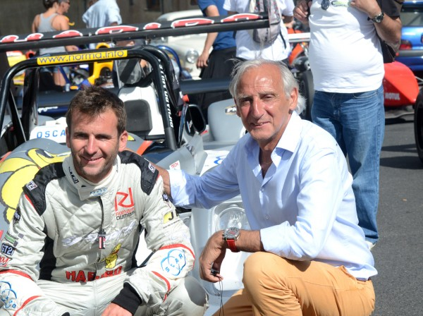 ROMAIN DUMAS et NORBERT SANTOS - photo Claude MOLINIER