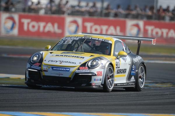 PORSCHE Cup 24 H du Mans - Christophe LAPIERRE - Photo Antoine CAMBLOR