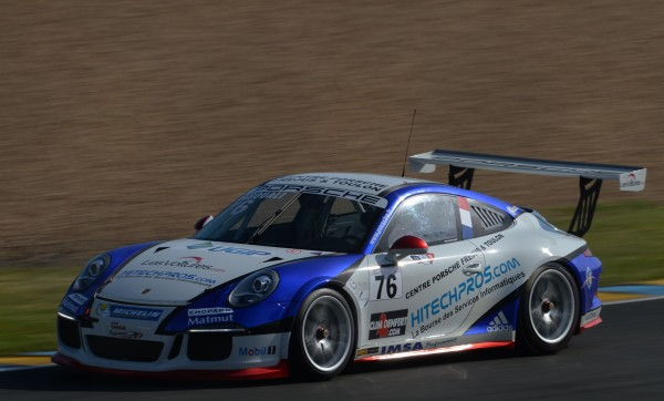 PORSCHE Cup 24 H du Mans -Laurent PASQUALI - Photo Antoine CAMBLOR