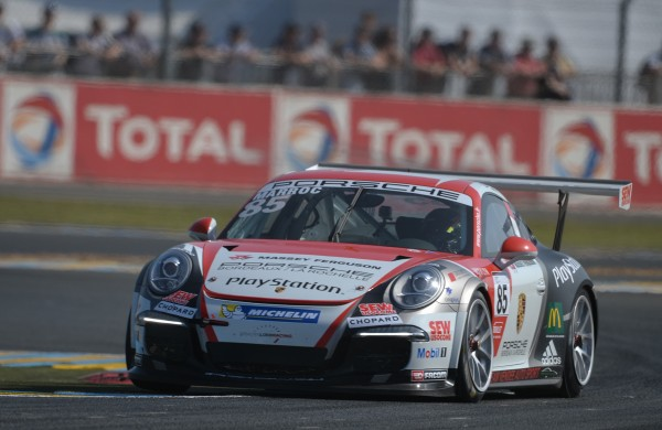 PORSCHE Cup 24 H du Mans -Nicolas MARROC - Photo Antoine CAMBLOR