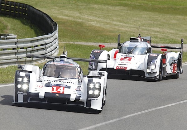 24 HEURES DU MANS 2014 - PORSCHE-N°14-AUDI-N°-2. Photo Thierry COULIBALY