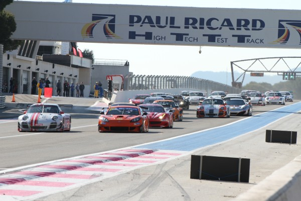 VdeV 2014 PAUL RICARD le depart photo Maurice CAMUS