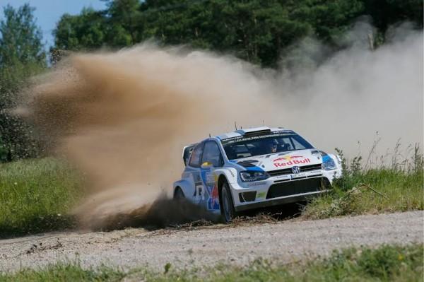 WRC 2014 POLOGNE - Andreas MIKKELSEN.